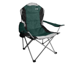 Folding Camping Chair Padded Seat Back Festival Deck Beach Fishing Carry... - $72.72