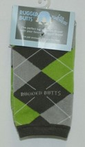 Rugged Butts LWWGYOSLA00 Boys Gray Awesome Argyle Leg Warmers One Size Fits Most image 1