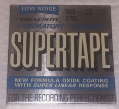 Realistic Supertape Recording Tape - $12.82