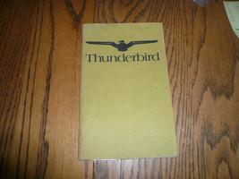 1974 Ford Thunderbird Owner's Manual - Glove Box - $14.45