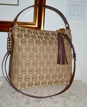 NWT $278 Michael Kors MK Bedford LG SHLDR Bag M... - $132.20