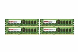 MemoryMasters 64GB (16x4GB) DDR3-1333MHz PC3-10600 ECC RDIMM 2Rx4 1.35V Register - $818.48