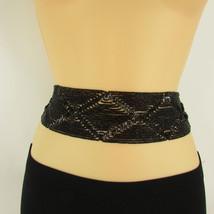 New Women Moroccan Black Beads Tie Fashion Belt Waist Hip Plus Size M L XL - $14.69