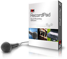 Primary image for RecordPad NCH software : Record WAV MP3 Audio on your PC