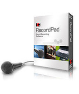 RecordPad NCH software : Record WAV MP3 Audio on your PC - $39.95