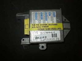 98 99 Honda Accord Module #77960-S84-A83-M3 *See Item Description* - $17.33
