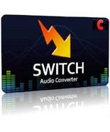 Switch Audio File Converter Software Convert Audio wav, mp3, wma, mp2, m... - $25.00