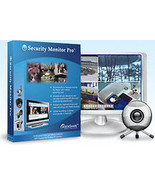 Security Monitor Pro Professional Video Surveillance Software  support 2... - $89.95