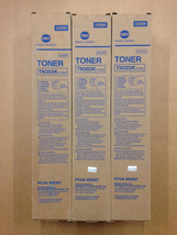 3pk Genuine Konica Minolta TN303K Black Toner 950367 (7135) SAME DAY SHI... - $54.45