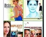 Erin Brockovich / Notting Hill / Duplicity / Charlie Wilsons War Four Feature...