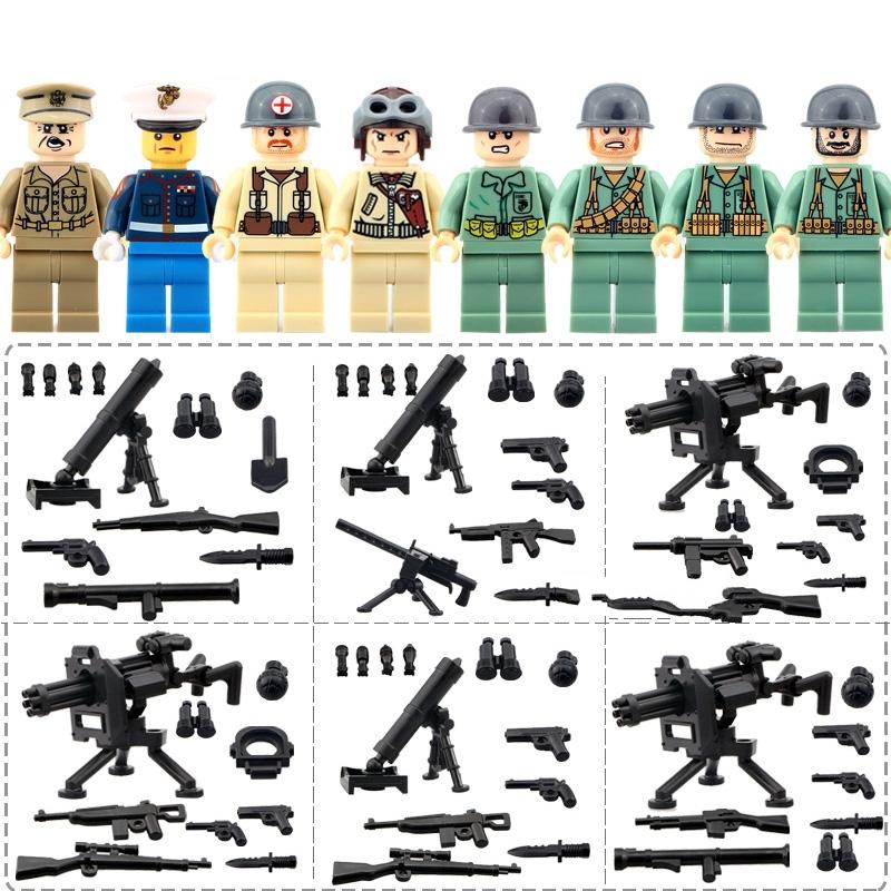 1 set War World 2 The Pacific War Japan Minifigures lego building blocks toys for sale  USA