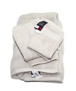 Tommy Hilfiger Towel Set StoneWash Beige 1 Bath... - $24.45
