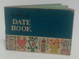 Hallmark Date Book 1958 Rare Promotional Calendar Pitner New Albany Miss... - $18.57