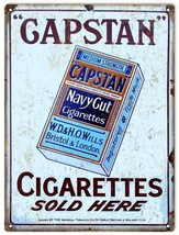 Reproduction Gapstan Cigarettes Sold Here Advertisement - $19.80