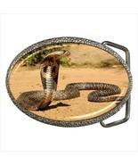 Cobra Snake Zinc Alloy Belt Buckle - $9.87