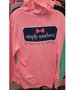 New SIMPLY SOUTHERN Southern TIE THAT BINDS   HOODIE HOODY SHIRT - $29.99
