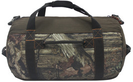 "Mossy Oak Camouflage Camo Heavy-Duty 24"" Barrel/Camp/Outdoor/Hunting Duf... - $708,45 MXN"