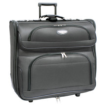 "Travel Select Amsterdam 23"" Dark Grey Upright Wheeled Rolling Garment Tr... - $1.214,64 MXN"