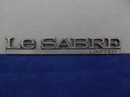 1992-1996 Buick 'LeSabre Limited' Rear Quarter Fender Emblem OEM - $8.00
