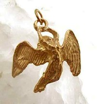 Greek Mythology Icarus gold plated silver charm Jewelry - $24.88