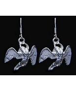 Celtic Guardian Angel Sterling Silver Earrings Jewelry - $32.55