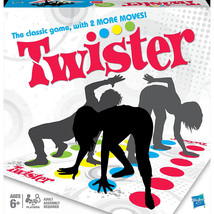 Twister Game Holiday Party Family Fun Classic Play Mat Spinner Challenge... - ₨1,697.29 INR