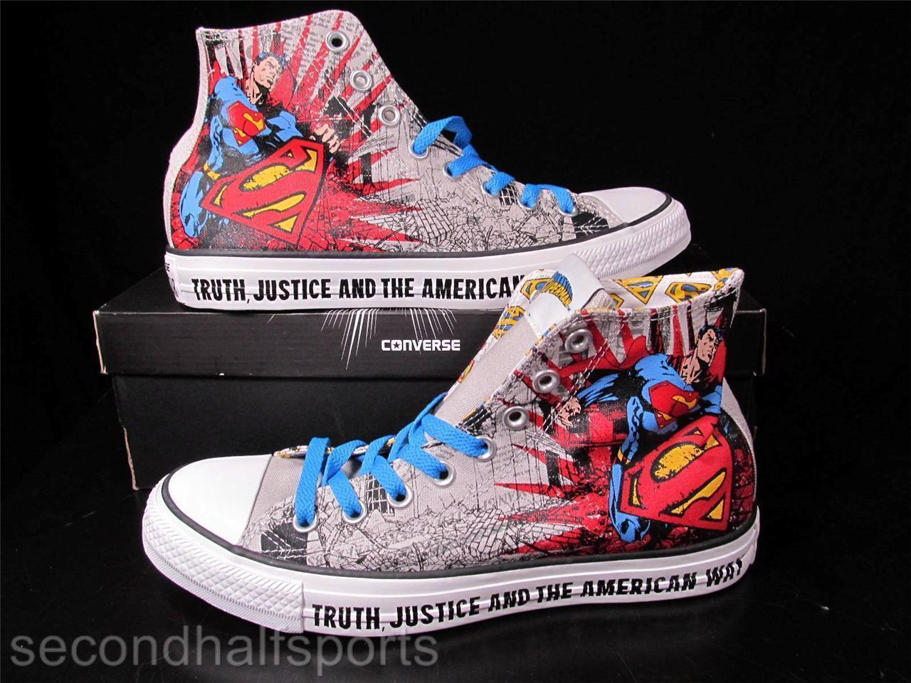 470d4a388394 S l1600. S l1600. Previous. Converse SUPERMAN DC COMICS Chuck Taylor All  Star Sneaker 141260C NWOB
