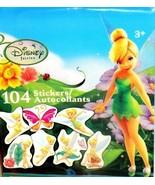 8 Disney Fairies TinkerBell Mini Sticker Sheets Party Supplies Easter Fa... - $18,83 MXN