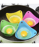 1Pcs Silicone Egg Poacher Cook Poach Pods Kitch... - $6.44