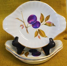 *3* Royal Worcester EVESHAM GOLD Porcelain - Fluted Individual Au Gratin... - $29.69