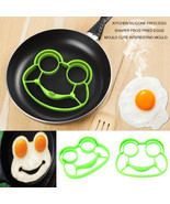 Kitchen Silicone Frog Egg Shaper Fried Mould Cu... - $12.18