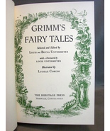 Grimm's Fairy Tales Book Heritage Club 1980 by Louis and Bryna Untermey... - $7.99