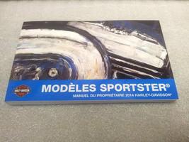 2014 Harley Davidson NEW Sportster Models FRENCH Owner's Manual 99468-14FR - $30.67