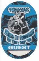 N SYNC n sync backstage Satin Cloth PASS tour collectible GUEST - $11.39