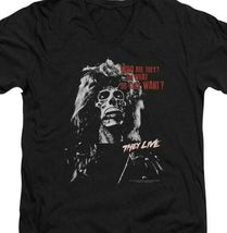 They Live t-shirt Who Are They? retro 80s sci-fi 100% cotton graphic tee UNI967 image 3