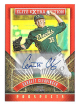2015 Garrett Cleavinger Panini Elite Extra Edition Rookie Auto - Athletics - $2.84