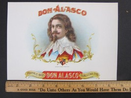 Vintage Original DON ALASCO Cigar Box Embossed ... - $9.84