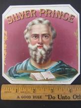 Original SILVER PRINCE Embossed Cigar Box Label... - $5.83
