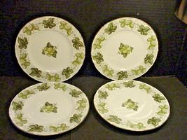 """Royal Worcester The Worcester Hop Salad Plates 8"""" Set of 4 Mathon - $23.76"""