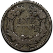 1858 Flying Eagle Large Letters Head Cent Penny Coin Lot# A 418 image 2