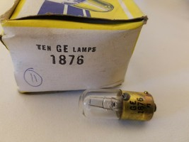 10x General Electric GE 1876 {GE1876} Miniature Lamps Light Bulbs 3.5V 2.5A - $79.36