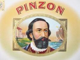 Original PINZON Van Dam Co Embossed Cigar Box L... - $9.84