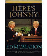 Here's Johnny! The Tonight Show My Memories 46 years Ed McMahon 2005 har... - $24.74