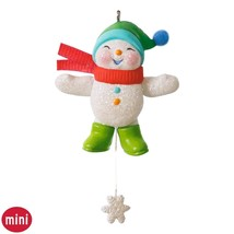 Snow Angel Memories 2016 Hallmark Ornament Mini... - $13.06