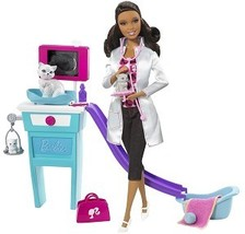 Barbie I Can Be - Kitty Care Vet Play Set, African-American  - $100.00