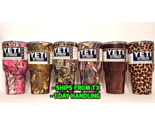 YETI - USA Ship - 30oz Rambler Tumbler Cup Pink Camo Wood Leopard Cheetah 30 oz