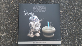 SIDESHOW COLLECTIBLES STAR WARS R2-D2 DELUXE SI... - $165.00