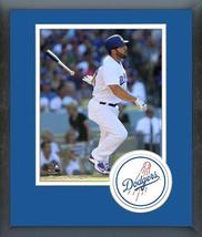 Rob Segedin 2016 Los Angeles Dodgers Action-11x14 Team Logo Matted/Framed Photo  - $43.55