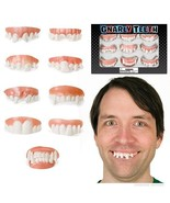 Set of 9 Gnarly Fake Costume Teeth! - $6.79