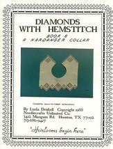 Diamonds with Hemstitch Linda Driskell Hardanger Collar Pattern Book 8 - $5.37